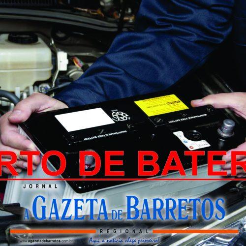 BARRETOS: Ladrão furta bateria de caminhão em posto de combustíveis