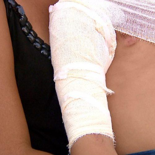 BARRETOS: Mãe diz que motorista 'fez de propósito' ao atropelar 4 crianças na calçada