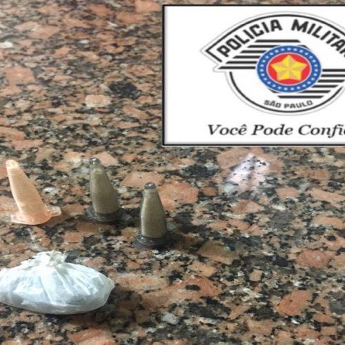 OLÍMPIA: Procurado pela Justiça é preso traficando drogas