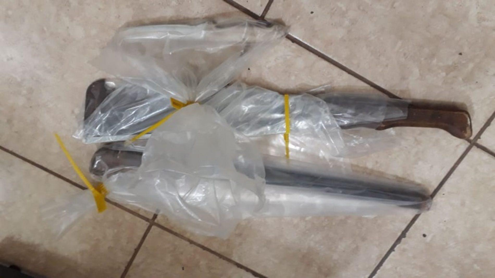 OLÍMPIA: Homem tenta matar a mãe com podão, faca e cano.