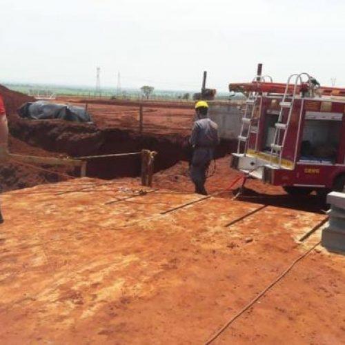 PLANURA: Soterramento mata dois trabalhadores e deixa um com fraturas graves