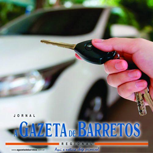 BARRETOS: Ladrão aborda mulher, rouba carro e depois vítima localiza veículo abandonado