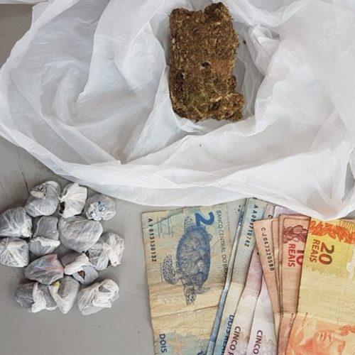CAJOBI: Policia Militar prende homem com droga na cueca