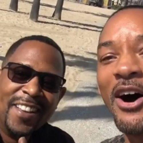 CINEMA: 'É oficial, está acontecendo!', diz Will Smith sobre 'Bad Boys 3'