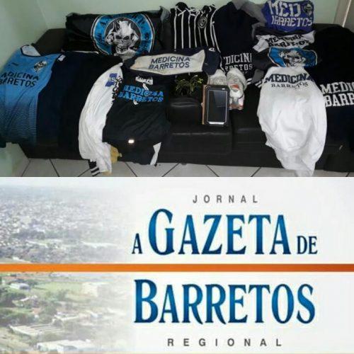 BARRETOS: Objetos furtados de alunos de medicina foram recuperados em mata pela Equipe do Canil