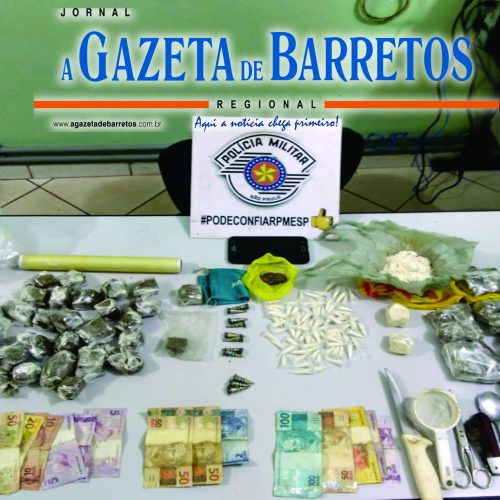 BARRETOS: Menores são detidos traficando drogas no bairro Zequinha Amêndola