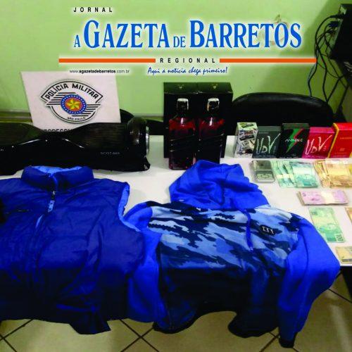 BARRETOS: Policia Militar detém menor autor de quatro roubos em um só dia em Barretos