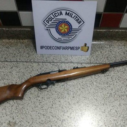 REGIÃO: Marceneiro é preso por suspeita de manter arsenal em sítio