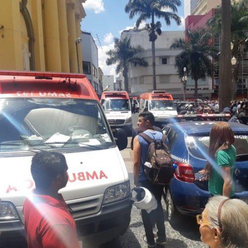 URGENTE: Homem invade missa, mata quatro e comete suicídio na Catedral de Campinas
