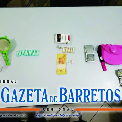 BARRETOS: Em liberdade assistida, menor é detido por tráfico de drogas