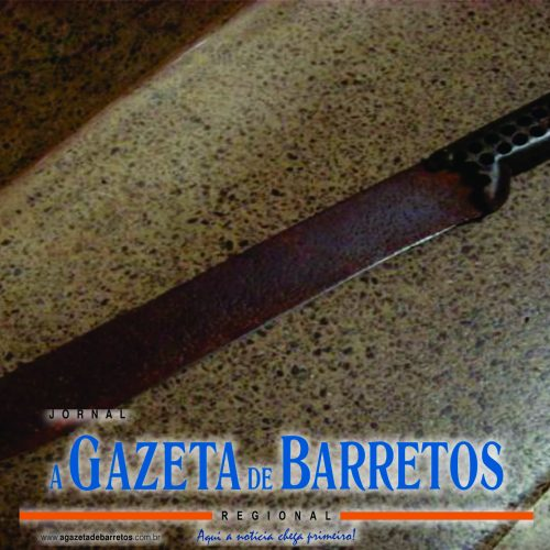 BARRETOS: Armado com facão, homem provoca danos e faz ameaças em residência