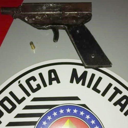 SEVERÍNIA: Jovem de Olímpia é flagrado com arma de fogo após culto na cidade vizinha
