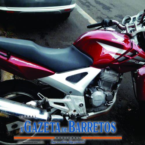 BARRETOS: Equipe Bravo recupera moto que havia sido furtada na Rua Santa Maria