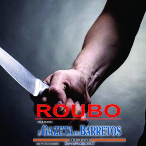BARRETOS: Ladrão armado com faca rouba padaria