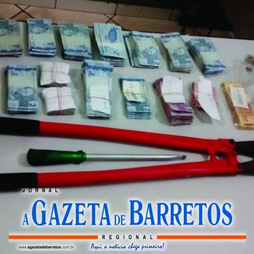 BARRETOS: Três homens são presos ao tentarem furtar agência do Correio na Avenida 43