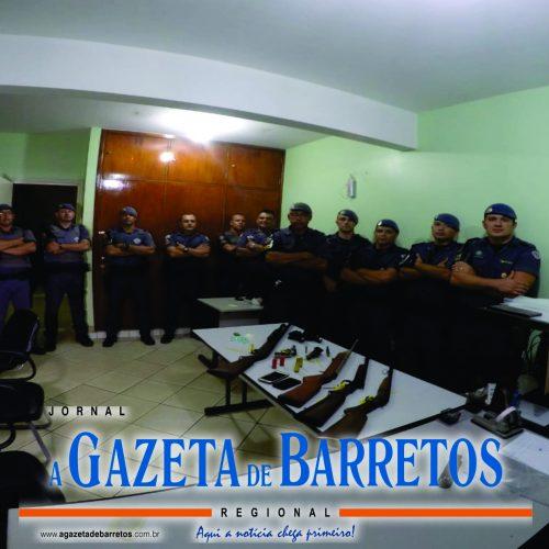 Quadrilha que traficava e roubava é presa por policiais de Barretos e Colômbia e diversas armas são apreendidas