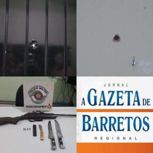 BARRETOS: Discussão, brigas e disparos de arma de fogo no bairro Santa Cecília