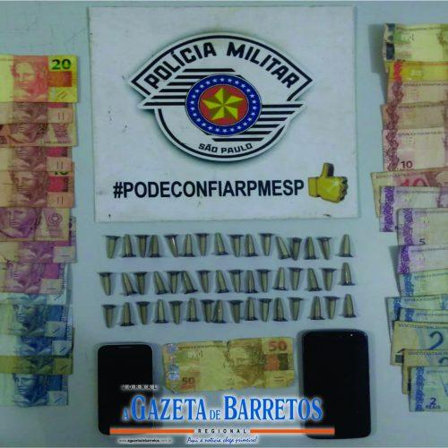 BARRETOS: Menores são apreendidos por tráfico e com dinheiro falso