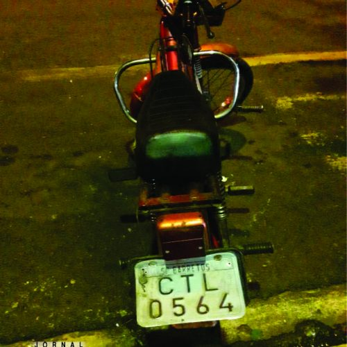 BARRETOS: PM – Equipe do Canil apreende mobyllete furtada