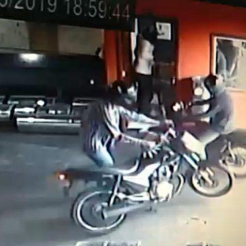 OLÍMPIA: Ladrões invadem empresa roubam cofre com 12 mil reais e uma Parati