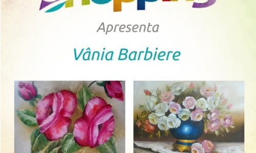 BARRETOS: Vânia Barbiere no Arte no Shopping de Abril