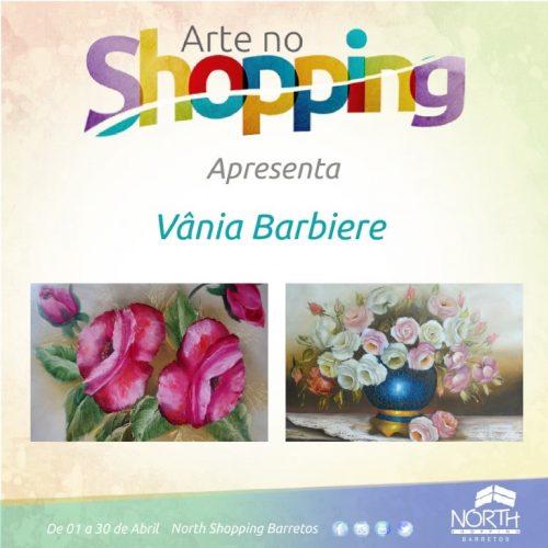 BARRETOS: Vânia Barbiere no Arte no Shopping de Abril