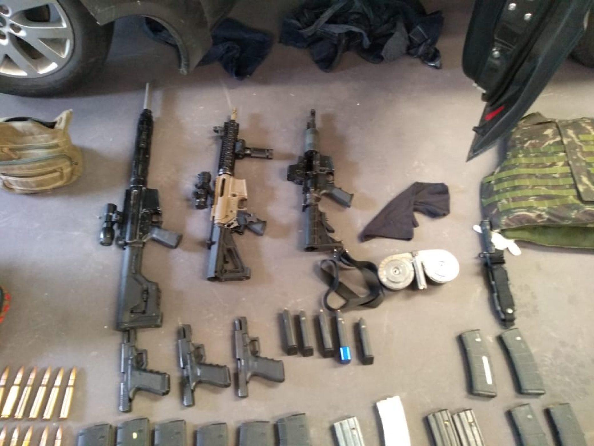 REGIÃO: DIG apreende forte armamento usado por quadrilha em Rio Preto