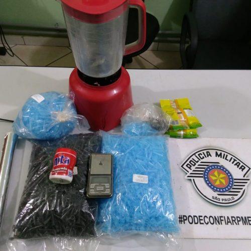 BARRETOS: Comando Força Patrulha prende vigilante por tráfico de drogas