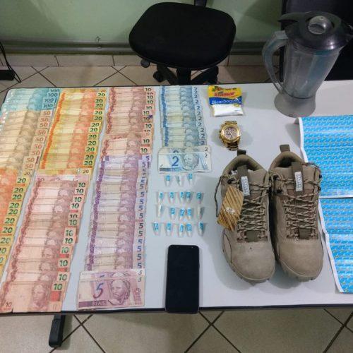 BARRETOS: Polícia Militar apreende menor com drogas e dinheiro e recupera vários objetos em residência.