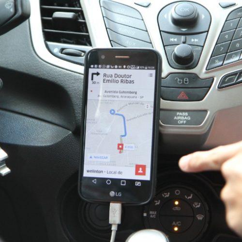 REGIÃO: Passageiro esquece bolsa em carro de aplicativo, motorista acelera e foge
