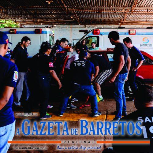 BARRETOS: Equipes de resgate do SAMU recebem treinamento