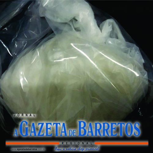 BARRETOS: Força Tática prende dois homens em motel e apreende quase meio quilo de cocaína pura