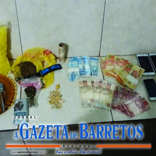 Família de Barretense é presa por tráfico de drogas em operação policial na cidade de Guaraci