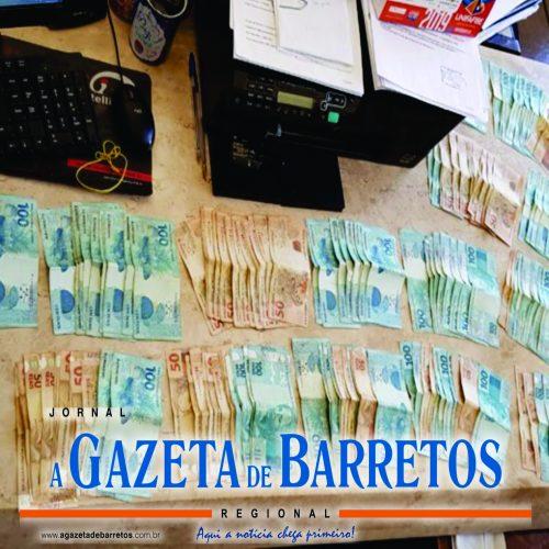 BARRETOS: Suspeito de estelionato é detido com mais de 16 mil em dinheiro