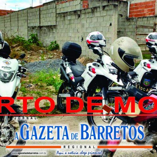 BARRETOS: Moto furtada é localizada em estrada rural