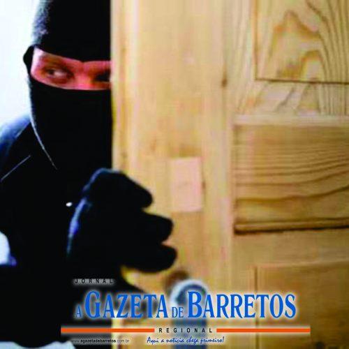 BARRETOS: Furto em residência no bairro Vida Nova