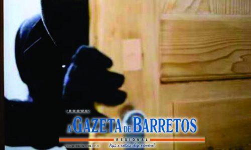 BARRETOS: Ladrões arrombam e furtam residência no bairro Primavera