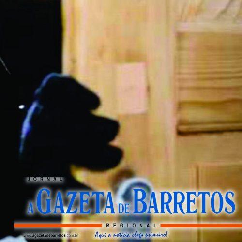 BARRETOS: Vítima flagra vizinho em sua cozinha durante a madrugada