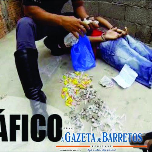 BARRETOS: Menor é detido vendendo cocaína e crack no bairro Luís Spina