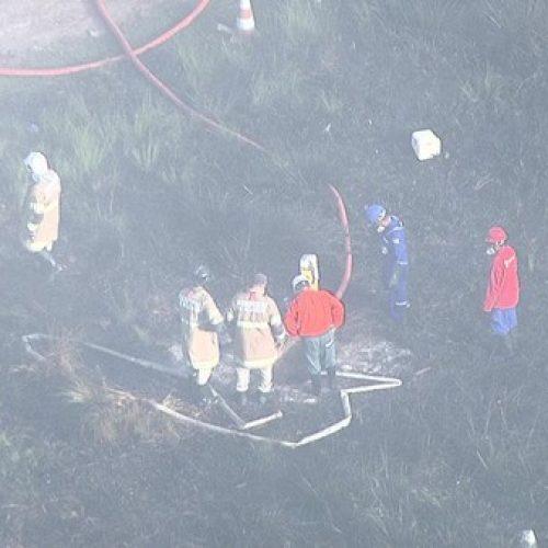 ALERTA RJ: Tentativa de furto de combustível provoca vazamento em Caxias; há risco de explosão no local