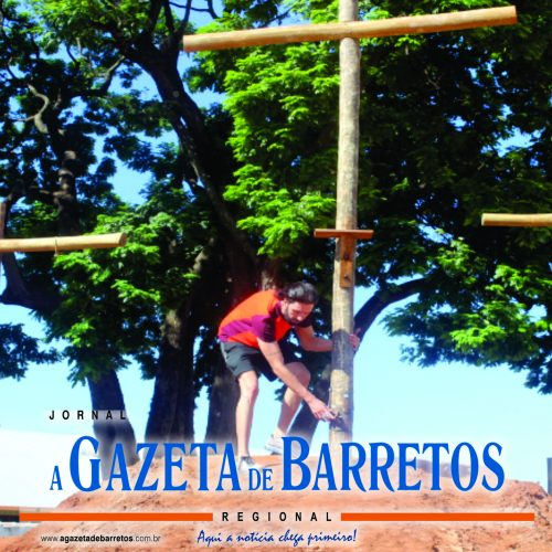 BARRETOS: Equipes de A Paixão de Cristo finalizam montagem de cenários