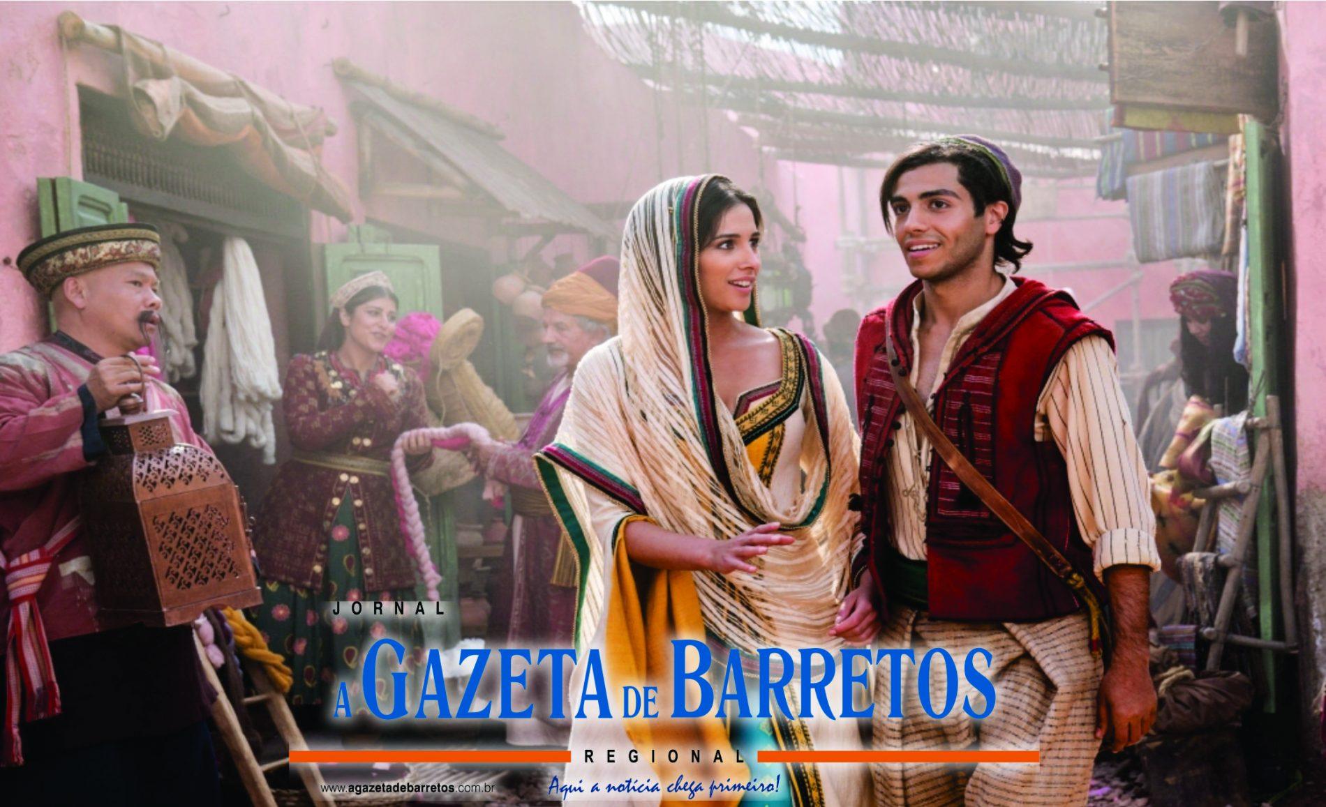 FILME: Estreia de 'Aladdin' lidera as bilheterias nos EUA