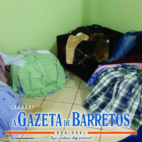 BARRETOS: Mulher é presa vendendo roupas furtadas pela internet