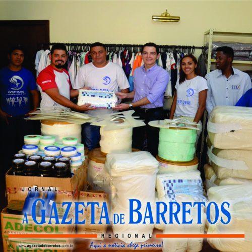 BARRETOS: Parceria entre Instituto Esperança e Vida e Prefeitura garante fabricação de fraldas