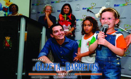 BARRETOS: Novo prédio do CEMEI: Luiza Costa Fernandes no bairro Jardim Califórnia aumenta para 250 crianças capacidade de atendimento