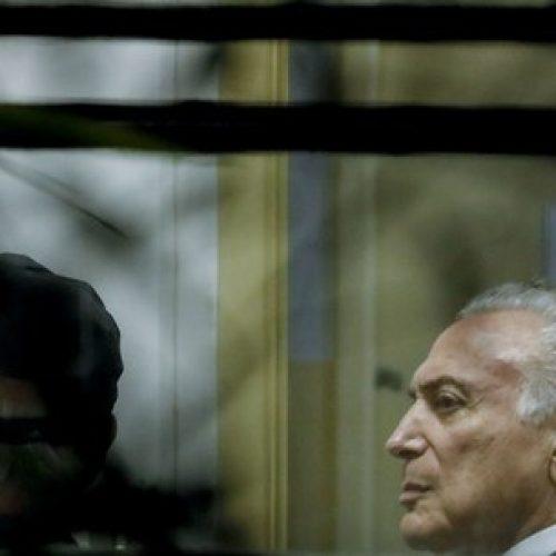 BRASIL: Ministros do STJ determinam soltura de Temer e coronel Lima