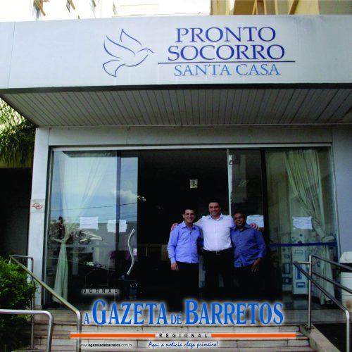 BARRETOS: Deputado Sebastião Santos destinará R$ 1 milhão em recursos para Santa Casa