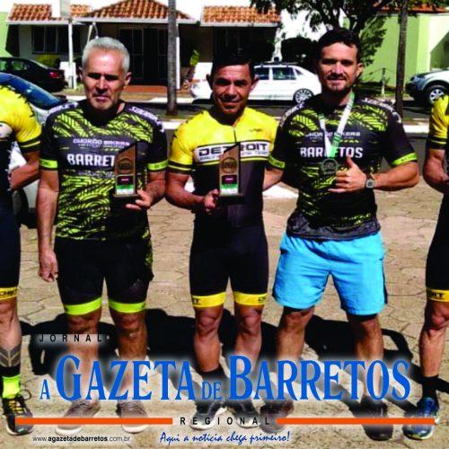 BARRETOS: Barretenses conquistam primeiro e terceiro lugar em etapa da Liga de Ciclismo