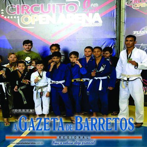 BARRETOS: Barretenses conquistam 18 medalhas em Campeonato no Open Jiu-Jitsu
