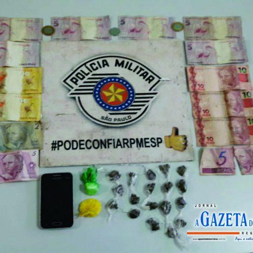 BARRETOS: Equipe Bravo prende duas mulheres e um homem que traficavam drogas